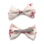 Cute Pattern Chiffon Bow Hair Clip Alligator Clip