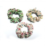 Floral Patterns Scrunchies
