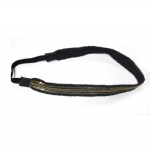Golden Sequins With Balls Chain Elastic Headband