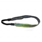 Sewed Colored Lines Elastic Headband