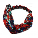 Enthic GEO Pattern Headwrap Chiffon Headband