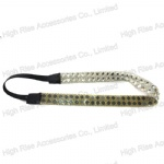 Soft PVC Crystals Elastic Headband