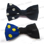 Semidetached Polka Dots Bow Hair Clip Alligator Clips