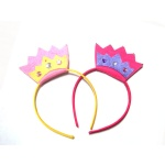 Felt Crown Alice Band Tiara Headband Party Band