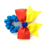 Grosgrain Ribbon Bow Scrunchies Hair Elastic