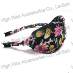 Floral Twist Bow Alice Bead, Party Headband