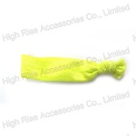 Yellow Elastic Hair Tie, Knotted Hair Elastic