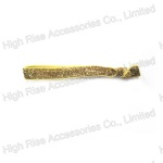 Golden Glitter Hair tie, Knotted Hair Elastic