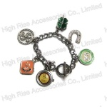 Multiple Charms Chain Bracelets