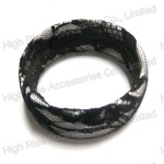 Black Lace Bangle