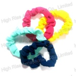 Small Plain Colored Scrunchie Set,Ponytail Holder