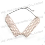 Pearls Hollow-out Collar