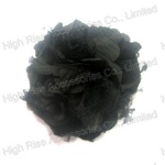 Black Mesh Lace Flower Hair Clip With Brooch Clip