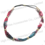 Golden Beads Fabric Band Elastic