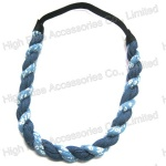 Jean Braided Elastic Headbnad