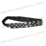 Stitching Crystal Elastic Headband