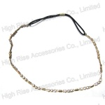 Crystal Chain Elastic Headband