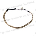 Double Metal Chain Elastic Headband