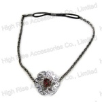 Metal Flower Chain Headband