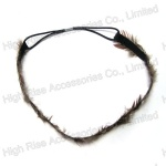 Feather Elastic Headband