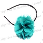 Chiffon Flower Alice Band