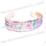 Light Color Sequin Alice Band