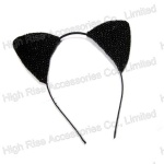 Studded Cat Ear Alice Band