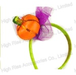Halloween Pumpkin Headband, Party Headband