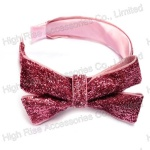Cannetille Bow Alice Band