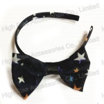 Stars Pattern Bow Alice Band