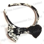 GEO Pattern Bow Alice Band