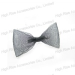 Black Mesh Bow Alligator Clip Hair Clip
