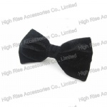 Black Velvet Bow Hair Clip Bow French Barrette Clip