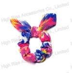 Rainbow Gradient Color Scrunchie