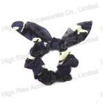 Wired Ear Chiffon Scrunchie