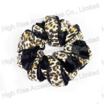 Animal Pattern Twist Velvet Scrunchie