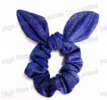 Shinny Wired Bow Scrunchie