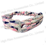 Mesh Pattern Headwrap For Girls