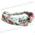 Flower Pattern Headwrap